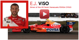 EJ Viso IndyCar Driver receiving IV Nutrition