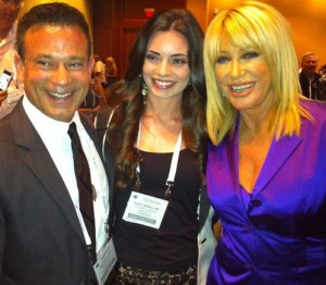 Suzanne Somers with Dr. DaSilva and Daughter Ashley
