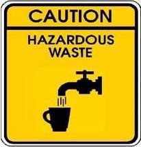 Caution Hazardous Waste