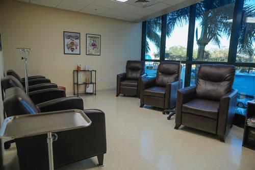 DaSilva Institute IV infusion room loungers